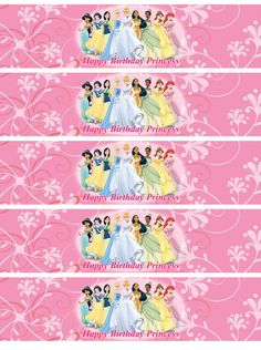 Disney Princess Water Bottle Labels - http://www.kittencarcare.info/disney-princess-water-bottle-labels/