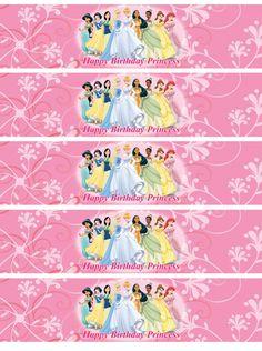 Disney Princess Water Bottle Labels - http://www.kittencarcare.info/disney-princess-water-bottle-labels/