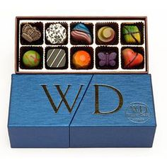 One day my chocolates will be as beautiful and have specially made boxes and trays...