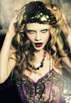 Cara by Ellen von Unwerth for Vogue Italia