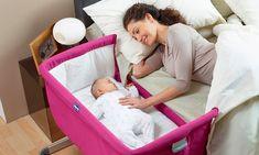 Met dit Chicco Next 2 Me wiegje, ligt jouw kindje altijd fijn en veilig naast je