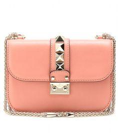 VALENTINO Pink Lock Mini Shoulder Bag