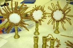 St. Clare Doll and Monstrance Crafts