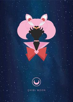 Chibi Moon Character