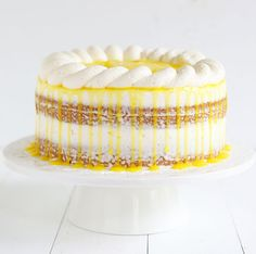 The ULTIMATE Lemon Cake - If you have a lemon lover in your life, this is the cake to make for them!