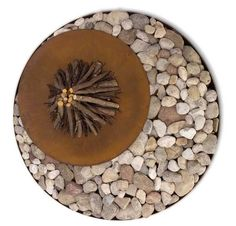 Luxury Outdoor Fire Pits at HomeInfatuation. This high design AK Zen outdoor fire pit would be great for any deck or patio. Outdoor Wood Fireplace, Outdoor Fireplace Designs, Outdoor Fireplaces, Fireplace Garden, Zen, Custom Woodworking, Woodworking Projects Plans, Ak47, Wood Fire Pit