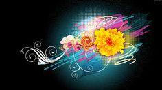 Black Flowers Wallpapers Change Desktop Wallpaper Background HD