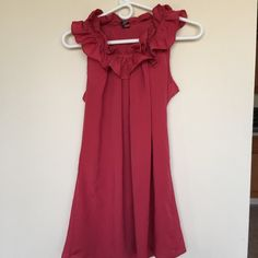 Red summer dress . Wear once . Bought form the boutique. Not from bar 3 . Bar III Dresses Mini