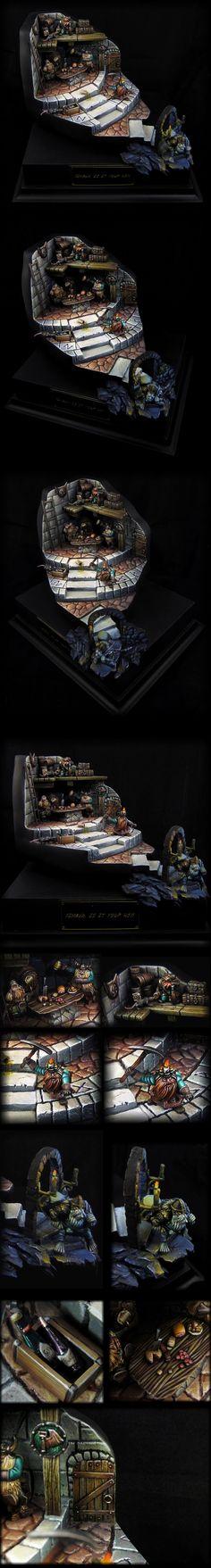 IT Golden Demon 2013 - Silver (dwarves diorama)