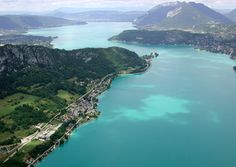 Lake Annecy in the french alps. Went there on holiday last year and now it's one of my favourite locations in the entire world...