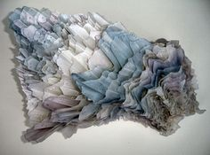great inspiration for tissue paper art...