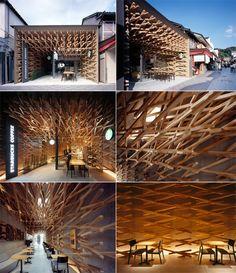 Starbucks. Kengo Kuma