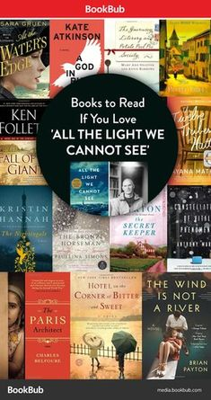 13 Books to Read if You Loved 'All the Light We Cannot See' - Books Worth Reading If You Love 'All the Light We Cannot See'