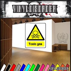 Caution Sign Wall Decal - Vinyl Sticker - Car Sticker - Die Cut Sticker - CD054