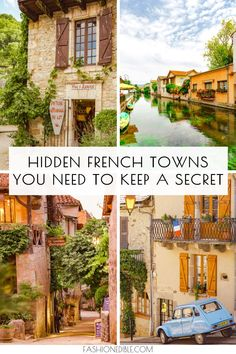 Southwest France Travel Guide to 5 Amazing Towns - Grace J. Silla : hidden gems in southwest France Cool Places To Visit, Places To Travel, The Places Youll Go, Travel Destinations, Places To Go, France Destinations, Voyage Europe, Europe Travel Guide, Travel Guides
