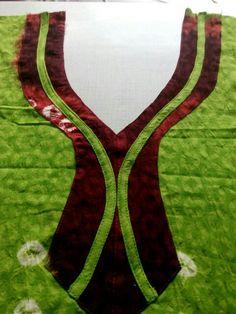 New Stylish & Trendy Kurti Neck Designs For Your Amazing Look - Kurti Blouse Salwar Neck Patterns, Neck Patterns For Kurtis, Salwar Neck Designs, Churidar Designs, Kurta Neck Design, Chudithar Neck Designs, Neck Designs For Suits, Sleeves Designs For Dresses, Neckline Designs