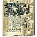 Lots of cool book-related art. Current exhibition> Testonomy at Toomey Tourell in SFO. 2/2/12-3/17/12