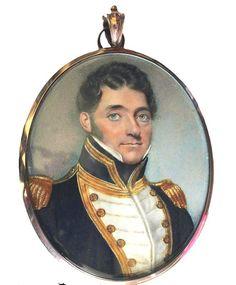 A portrait of the Naval officer Captain Augusuts Donaldson, R.N.  Walter Stephens Lethbridge