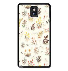 Vintage Flowers Design Samsung Galaxy S3 S4 S5 Note 3 Case