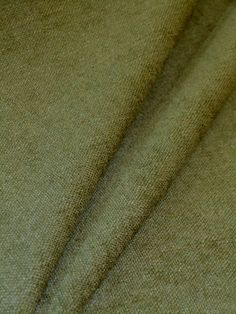 Textured Chenille Color Palm Premium Upholstery Fabric In A Light Shade Of Green Transitional Home Decor
