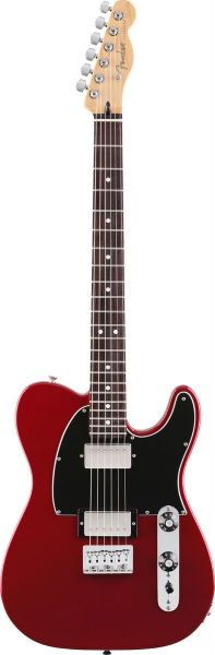 Fender Blacktop HH Telecaster - RW - Candy Apple Red Electric Guitar