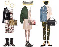 Girly grunge // #hvisk #hviskstyling #hviskstylist #fashion #grunge #collage #graphicdesign #art