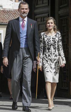 Los reyes Felipe y Letizia presiden la ceremonia de entrega del Premio Cervantes.20.04.2017