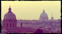 Vista de Roma desde los Museos Capitolinos. #Roma #italia