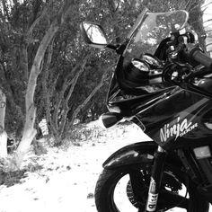 My #motorcycle #kawasaki #ninja500