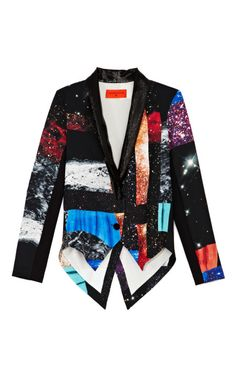 Soft Suiting Funny Honey Jacket by Clover Canyon for Preorder on Moda Operandi