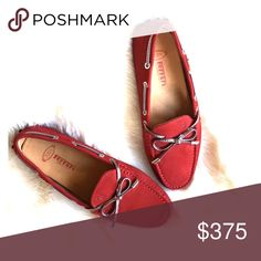 TOD'S Ferrari Women's Driving Shoes Soft, beautiful loafer is a dark red. Never worn! Tod's Shoes Flats & Loafers
