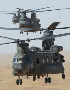 Canadian Forces Chinook helicopters in Afghanistan