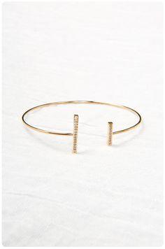 Sticks and Stones Cuff | $28
