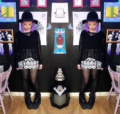 More looks by Emmy: http://lb.nu/emjoryll  #artistic #edgy #gothic