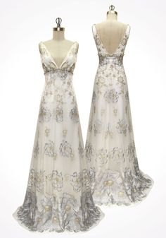another Claire Pettibone ~ good option if you aren't quite sure if you want the traditional white dress