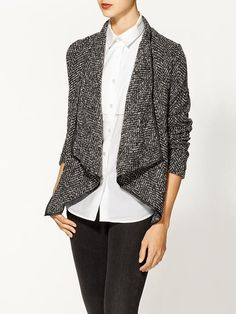 Loving this right now - Ark & Co. Textured Jacket