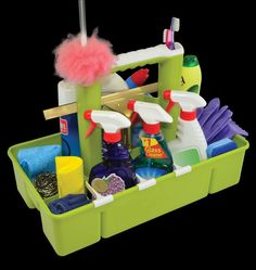 Essential cleaning supplies every home should have, but don't worry we bring our own! http://abt.cm/1KcQ6CH