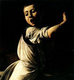 1599 1600 Le Caravage Martyre de Saint Mathieu, Détail l