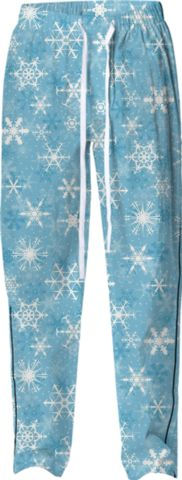 Snowflakes Pajama Bottoms - Available Here: http://printallover.me/collections/sondersky/products/0000000p-snowflakes-18