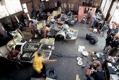 1971 Teloche Porsche Garage LeMans