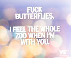 Schmetterlinge, Liebe