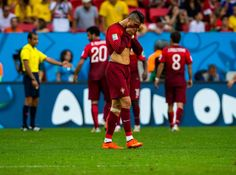 Cristiano Ronaldo wins FIFA best player award:      June 2014: Early exit in Brazil  -   He couldn't end the 2013‐14 season with international success, as Portugal were dumped out of the 2014 World Cup in Brazil at the group stage with their star player suffering a knee injury during the tournament.