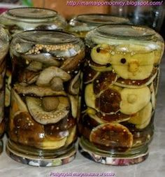 Polish Recipes, Polish Food, Preserves, Pickles, Cucumber, Tapas, Food And Drink, Snacks, Canning