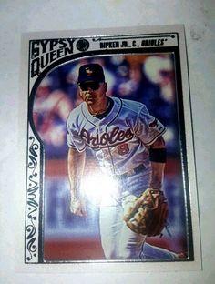 2015 Topps Gypsy Queen Framed White  Cal Ripken Jr. #87 Baltimore Orioles  #BaltimoreOrioles