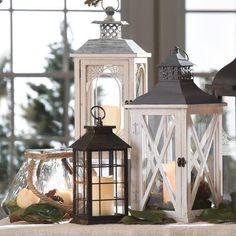 Decorative lamps and lighting in 2019 подсвечники, декор, шкаф. Floor Lanterns, Wooden Lanterns, Lanterns Decor, Candle Lanterns, Led Lantern, Lantern Candle Holders, Kirkland Home Decor, Diy Porch, Entertainment Center Decor