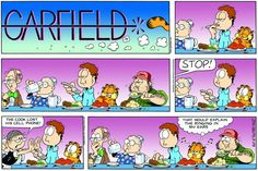 Garfield & Friends | The Garfield Daily Comic Strip for May 29th, 2005