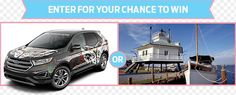 Cool Ford 2017 - Hallmark Channel - Win a 2017 Ford Edge or a 5 Day Trip to the Eastern Shore - s...  #Sweepstakes Potpourri Check more at http://carsboard.pro/2017/2017/08/30/ford-2017-hallmark-channel-win-a-2017-ford-edge-or-a-5-day-trip-to-the-eastern-shore-s-sweepstakes-potpourri/