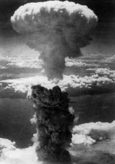 In 1945, two atomic bombs were dropped on two cities in Japan. It was the world's first use of the atomic bomb