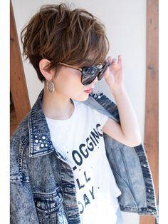 Short Choppy Haircuts, Layered Bob Hairstyles, Straight Hairstyles, Medium Hair Styles, Curly Hair Styles, New Hair Look, Tomboy Hairstyles, Asian Short Hair, Shot Hair Styles