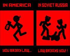 In Soviet Russia, law breaks you Short Jokes Funny, Funny Memes, Hilarious, Mathematical Joke, Anti Humor, Yo Momma Jokes, One Line Jokes, Really Funny Joke, Funny Stuff